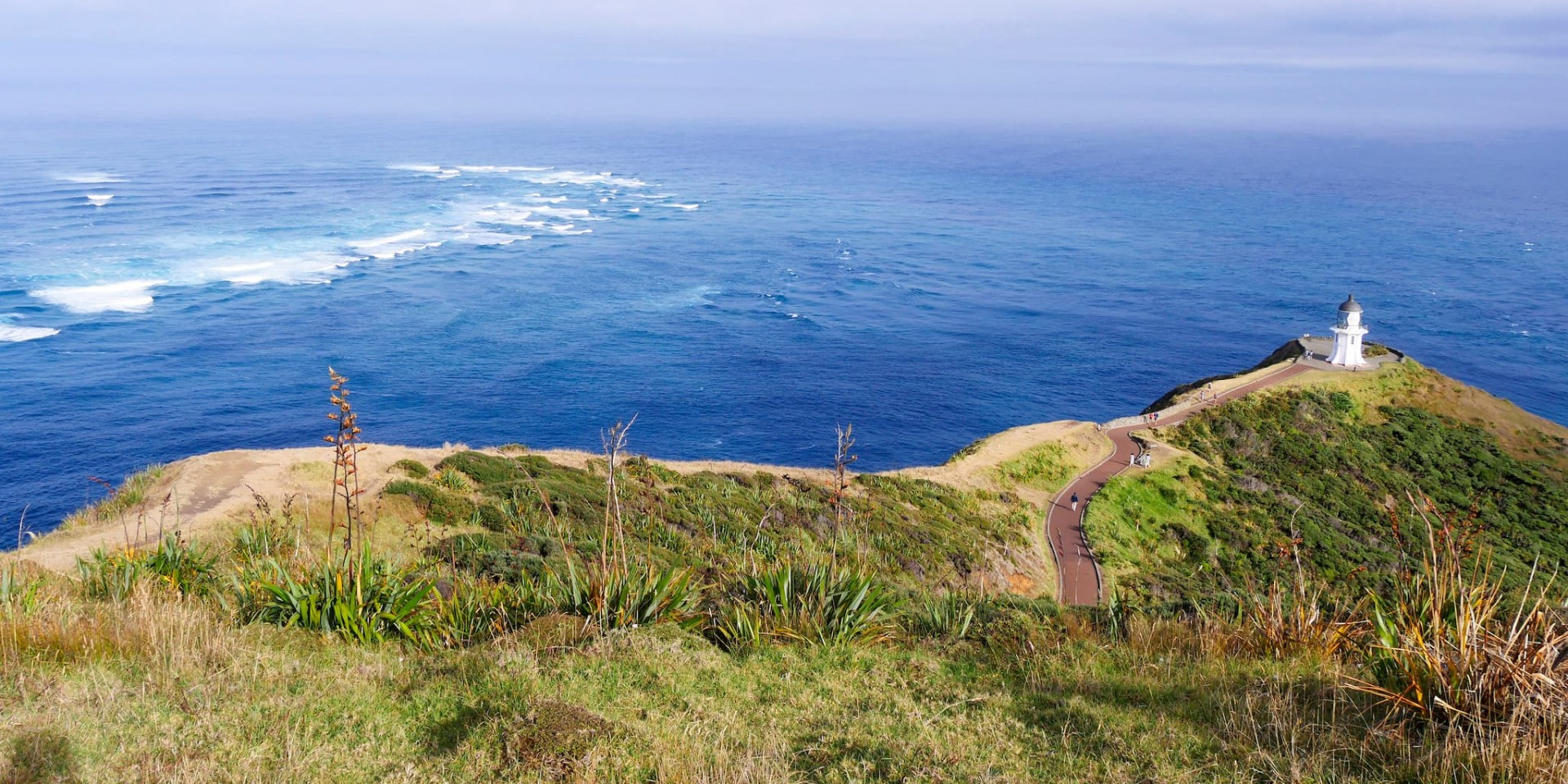 Cape Reinga Lighthouse and Columbia Bank 1